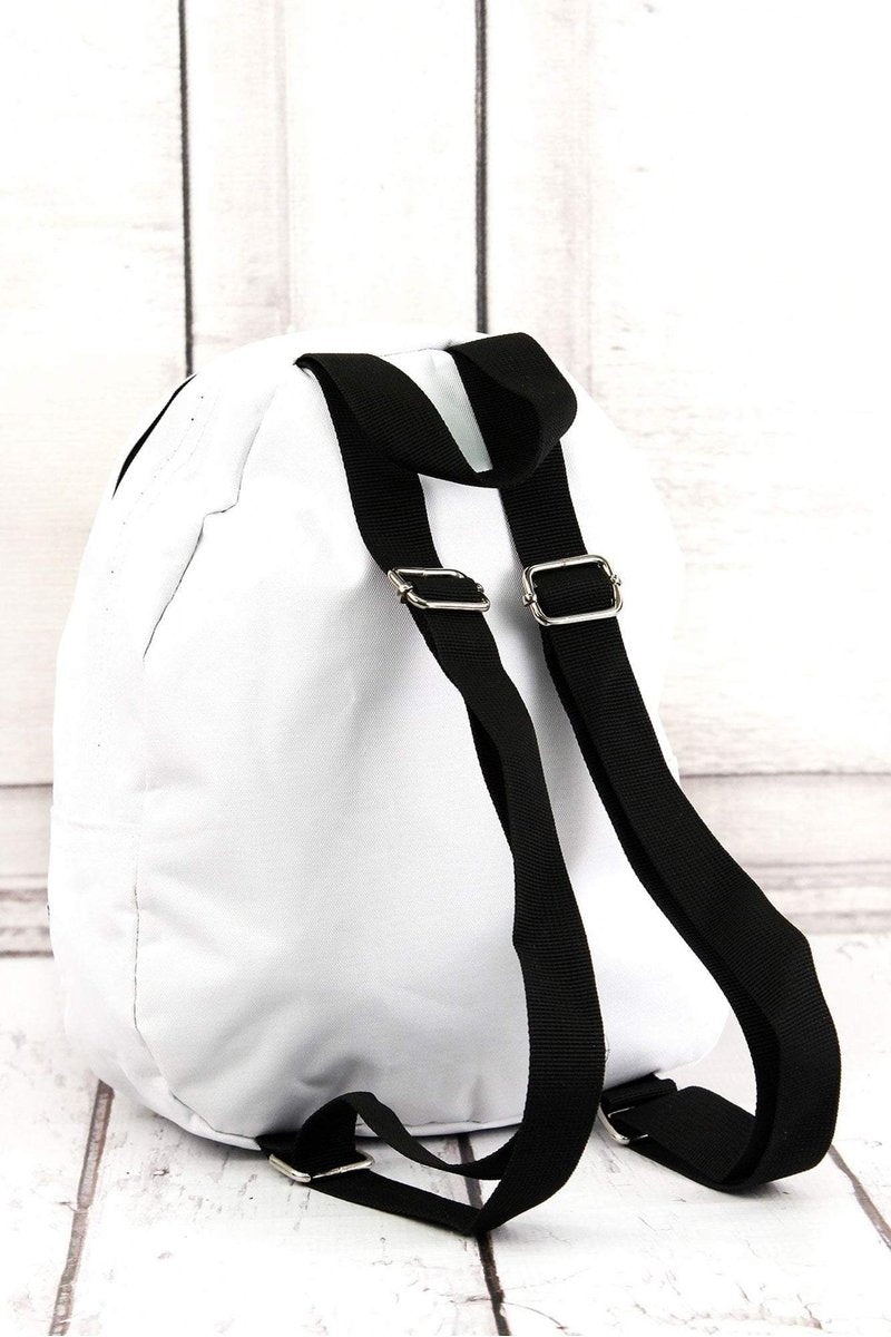 BASEBALL LACES SMALL BACKPACK