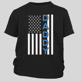 Daddy Thin Blue Line Flag