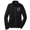 Ladies Microfleece Thin Blue Line Badge Jacket