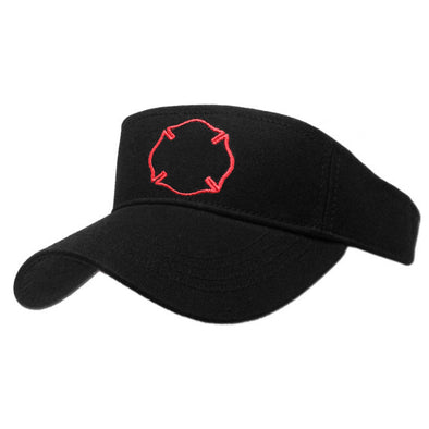 Firefighter Badge Visor Sun Hat