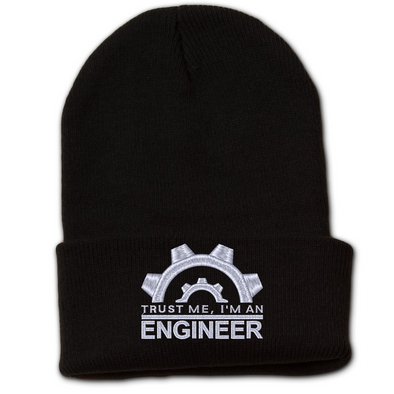 Trust Me, I'm An Engineer Beanie with Cuff