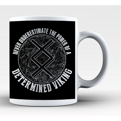 Determined Viking Mug