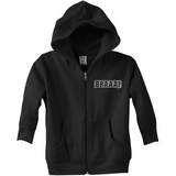 Braaap Toddler Zip Fleece Hoodie
