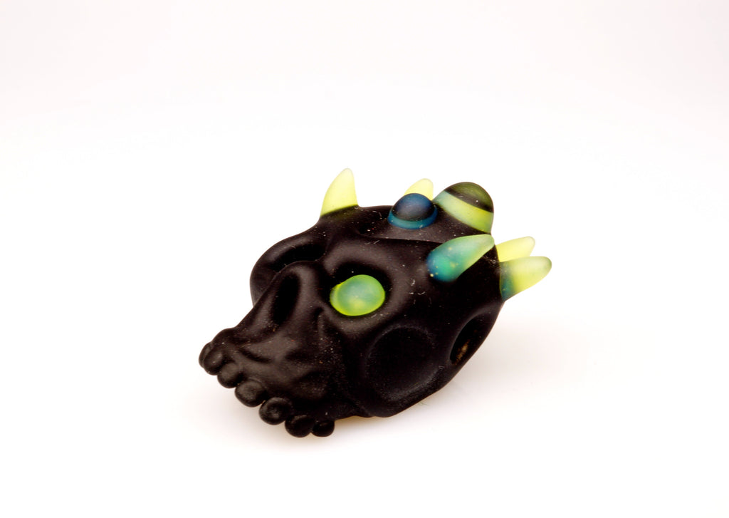 "Aquarius ""Imp-King"" Skull Pendant"