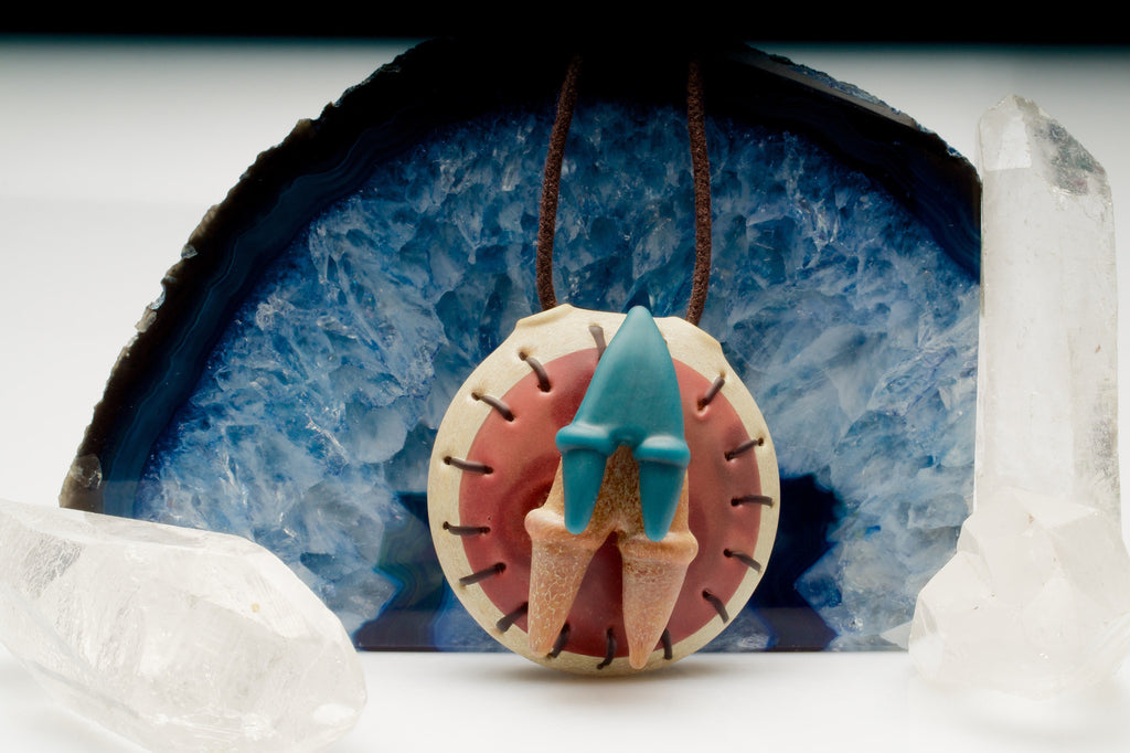 "Elbo x Peter Muller ""Jurassic Artifact"" Pendant Collaboration"