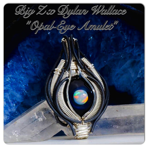"Big Z x Dylan Wallace Wirewrap ""Space Amulet"" Pendant Collaboration"