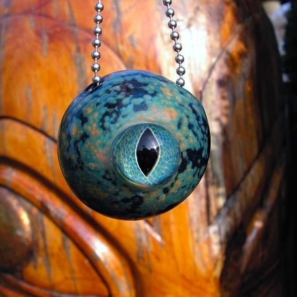 "Marcel Rensmaag ""Eye of the Fortune-Teller"" Talisman Pendant"