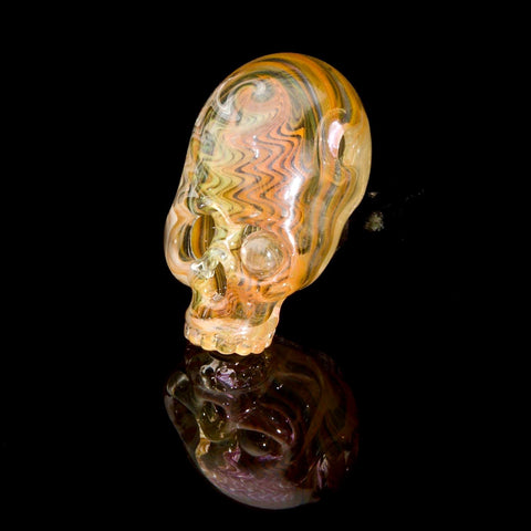 "Aquarius x Freddy Faerron ""Fume-Theory Sugar Skull #1"" UV Pendant Collaboration"