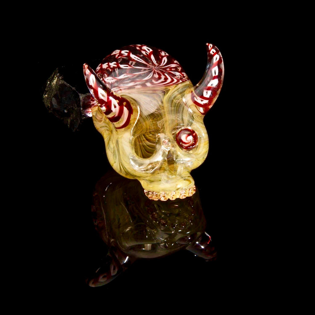 "Aquarius x Freddy Faerron x Matty Phunk ""ZoZo"" Fume Theory Sugar Skull #8 UV Pendant Triple Collab"