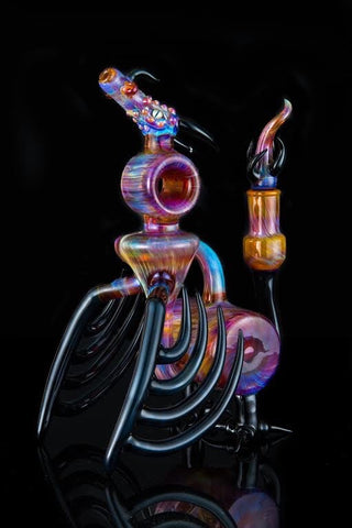"Know Ego x Shuhbuh x  Reverend Morse x Upgrade Glass ""Dragon Reshubbler"" Functional Quad-Collaboration"