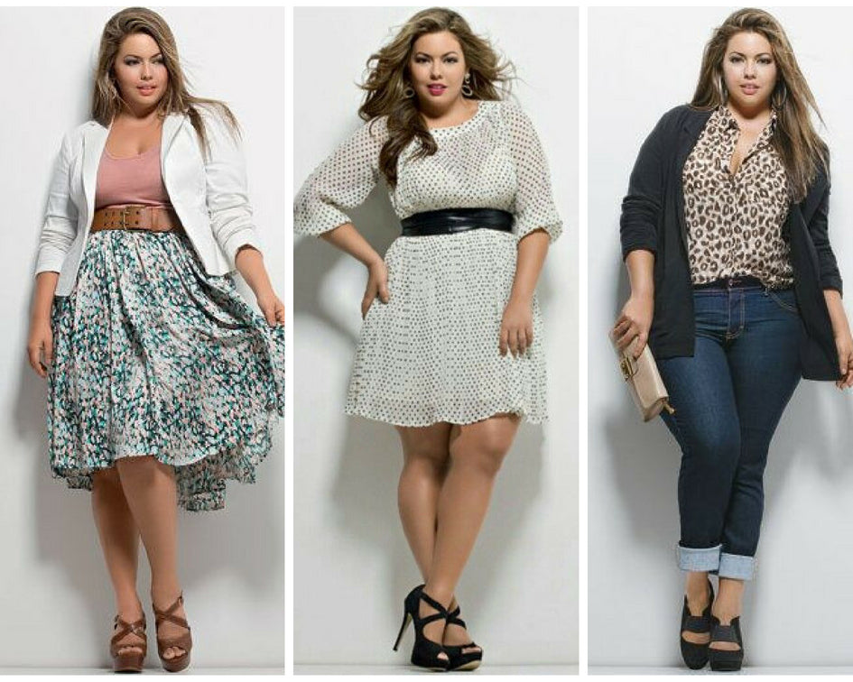 Plus Size: Fluvia Lacerda top model plus size
