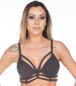 Top Fitness Stripes com Bojo 1369