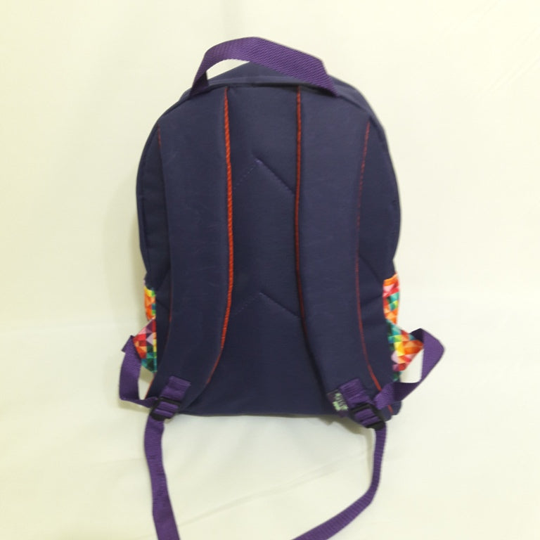 MOCHILA FEMININA ESTAMPAS GEOMETRIC COLORS