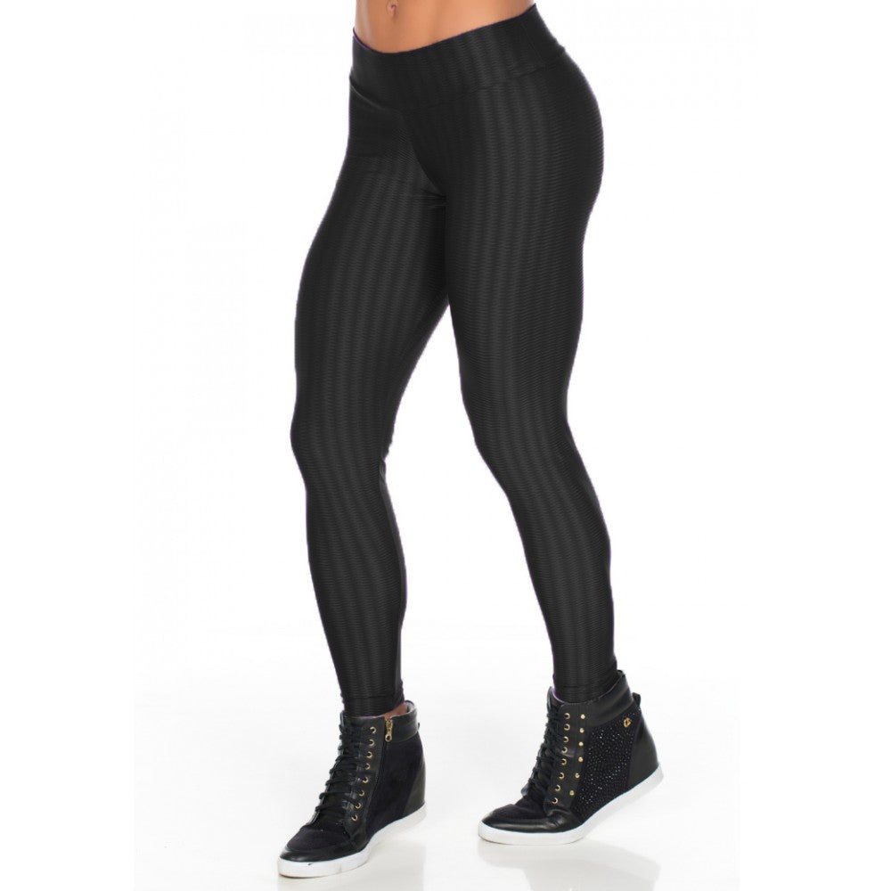 Calça Legging Fitness New Zig Preto | 515