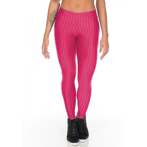 Calça Legging Fitness New Zig Rosa | 515
