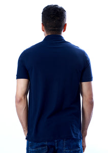 Camisa Polo logo lateral