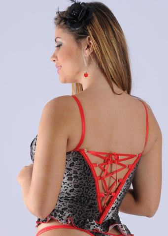 Corselet de Romantic Cruzado 1735A