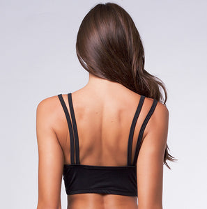 Top Fit Strappy com Tirinhas com Bojo | 1361