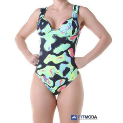 Body Fitness - Body em Poliamida Estampada Light Com Bojo 3.3.15661016 -   - 1