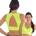 Top Cropped Fitness Bojo Removível - FITTP014