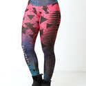 Calça Legging Fitness Sublimada Colors