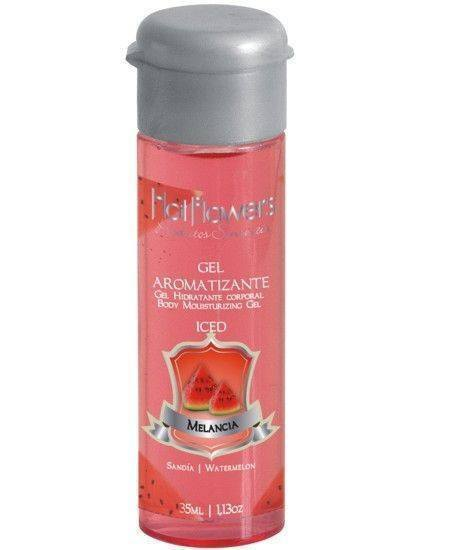 Comestiveis Sex Shop-Gel Aromatizante Iced Melancia - 35 ml