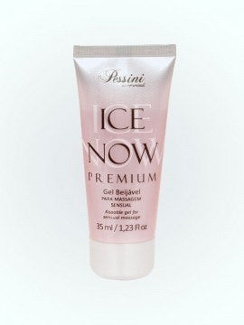 Comestiveis Sex Shop - ORAL ICE NOW CEREJA COM CHAMPANHE PREMIUM 35ML