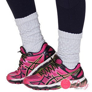 Meias Fitness - Kit Polaina Com 6 Pares Coloridos