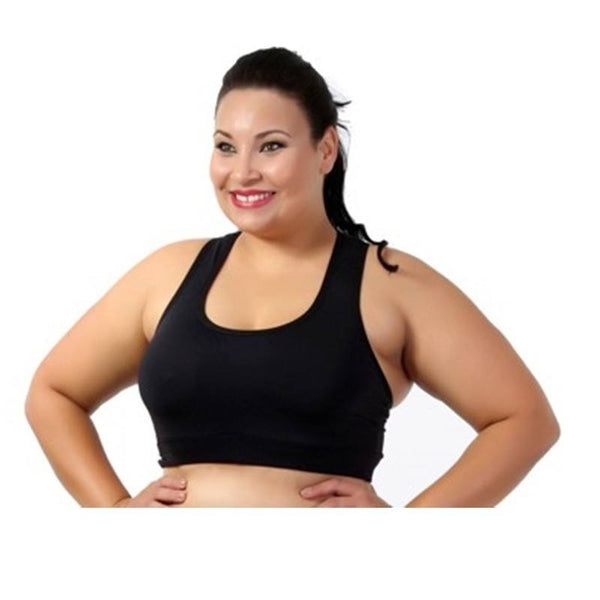 Moda Fitness Plus Size-Top fitness comum Plus Size