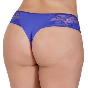 Plus Size - Kit 10 Tanga Plus Size Natália