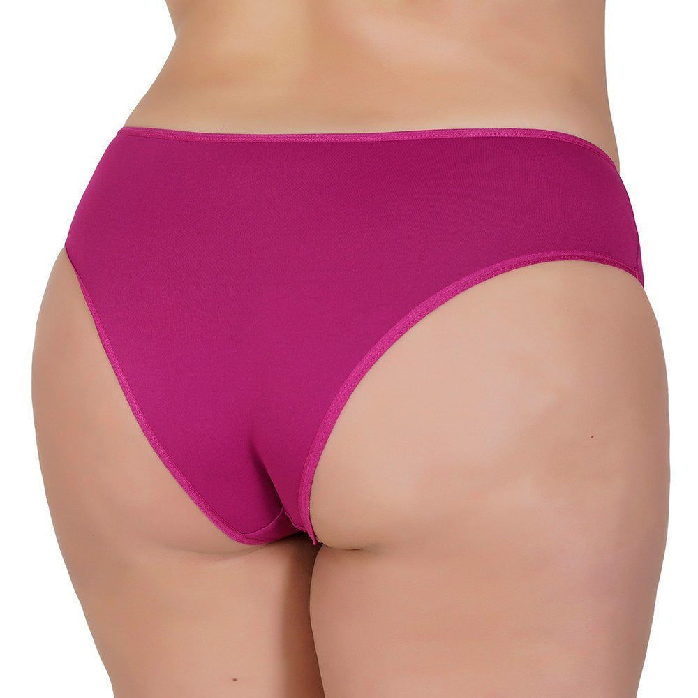 Plus Size - Kit 10 Tangas Plus Size Dora