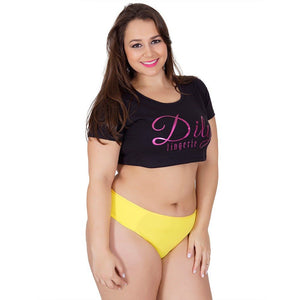 Plus Size - Kit 10 Tangas Plus Size Helena