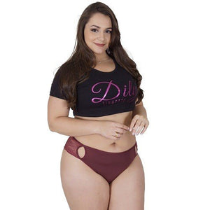 Plus Size - Kit 10 Tangas Plus Size Strappy