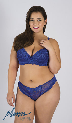 Plus Size - SUTIÃ RENDADO PLUS SIZE