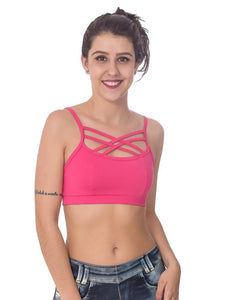 Tops Fitness - TOP FITNESS STRAPPY BRA - FITTP018