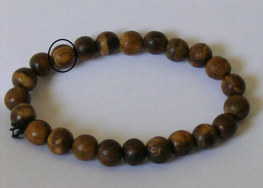 Is this genuine agarwood bracelet or Buaya bracelet? A recent review request