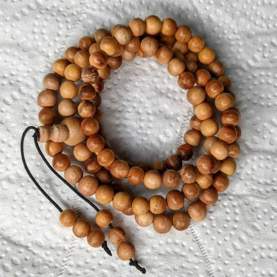 A simple solution for a darker wood bracelet (and necklace)