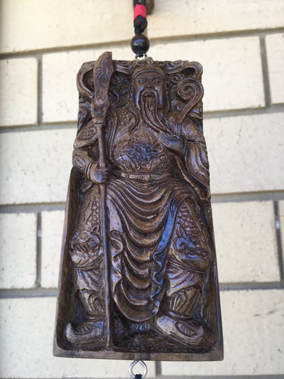 97g Guan Gung (Guan Yu) sinking Agarwood Car Decor
