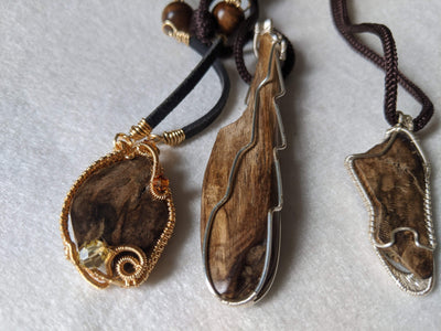 The Tri-Treasure: Three wild agarwood pieces - Grandawood- Agarwood Australia