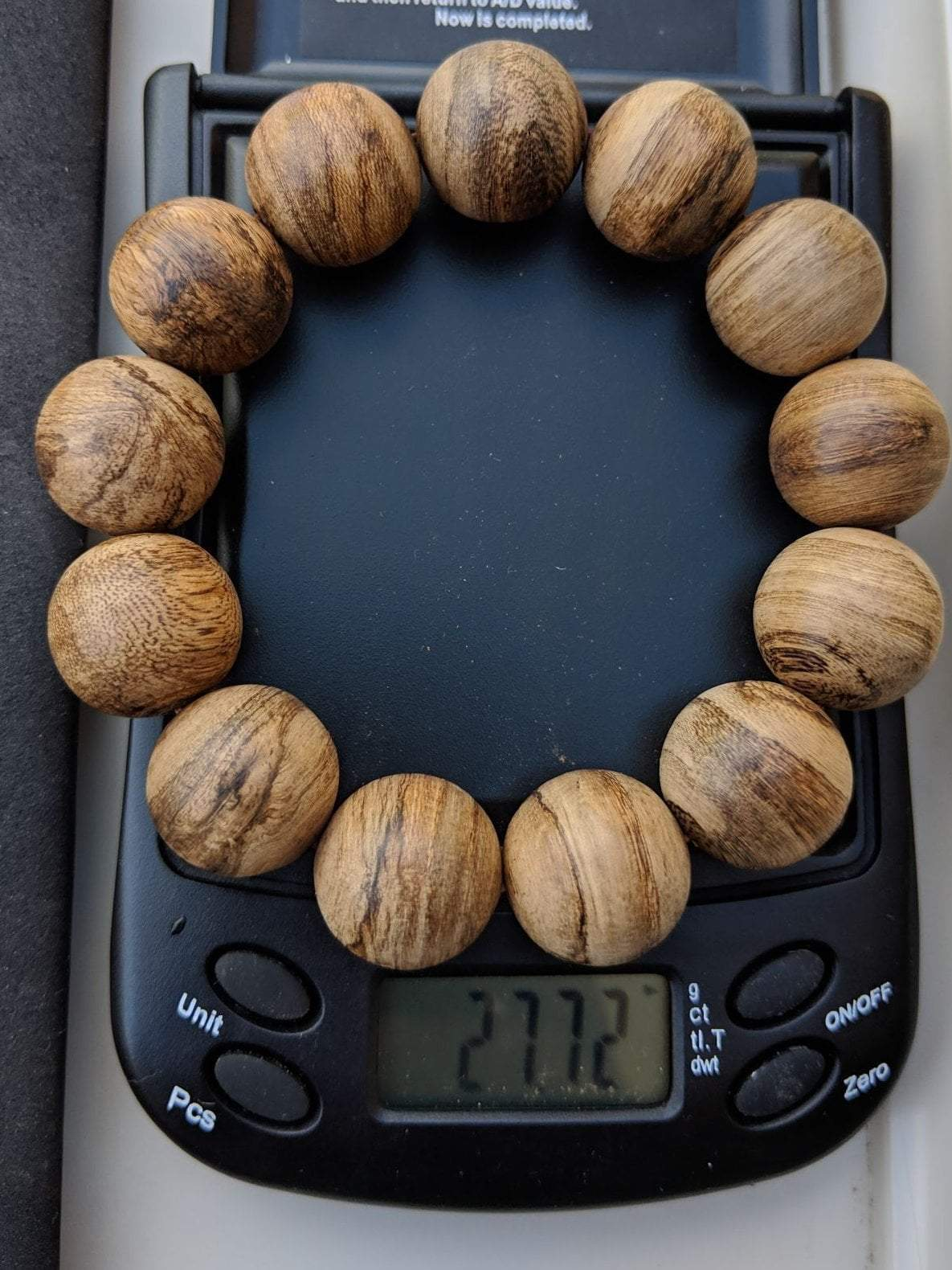 Wild Agarwood multiple bracelets weight around 25g 18mm - Grandawood- Agarwood Australia