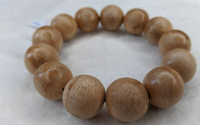 Beads Light Resin Tigerwood Wild Agarwood Bracelet 13 beads 15g 18mm