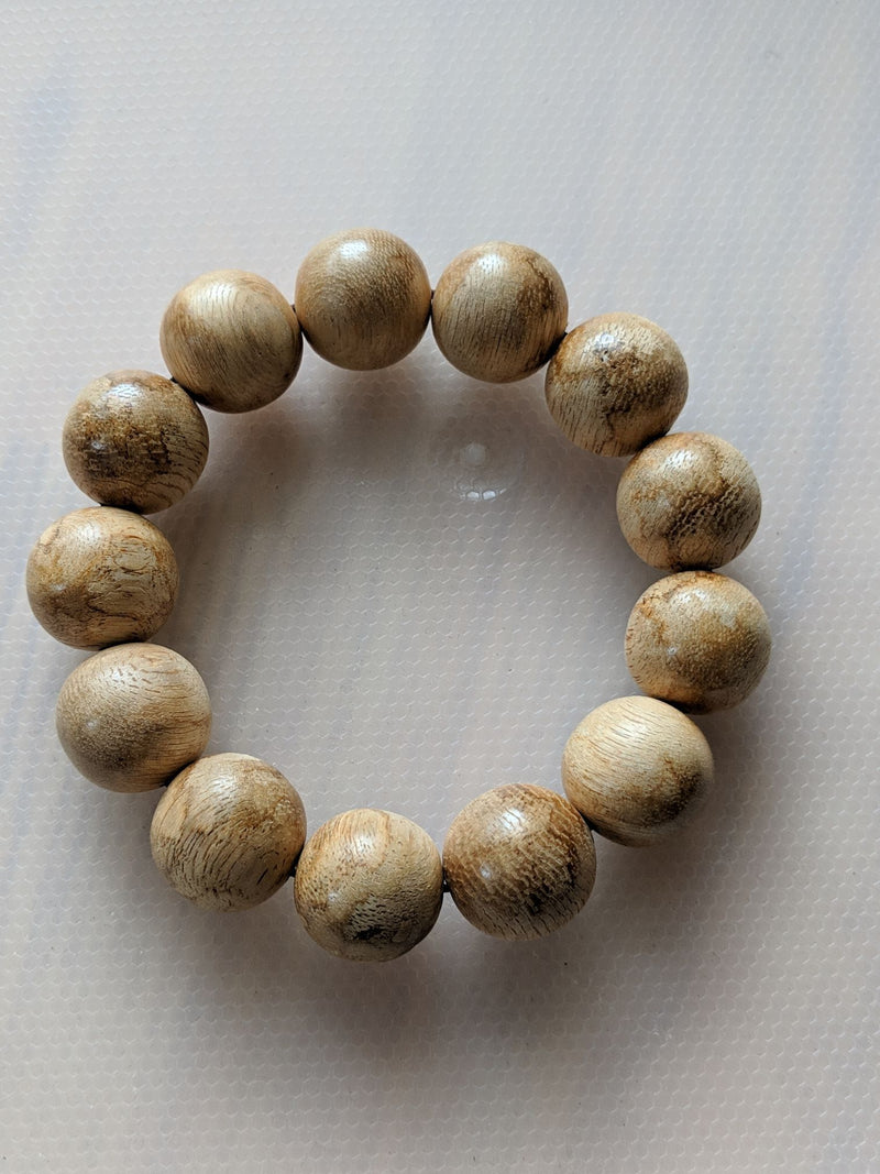 Beads Light Resin Tigerwood (wild agarwood) bracelet