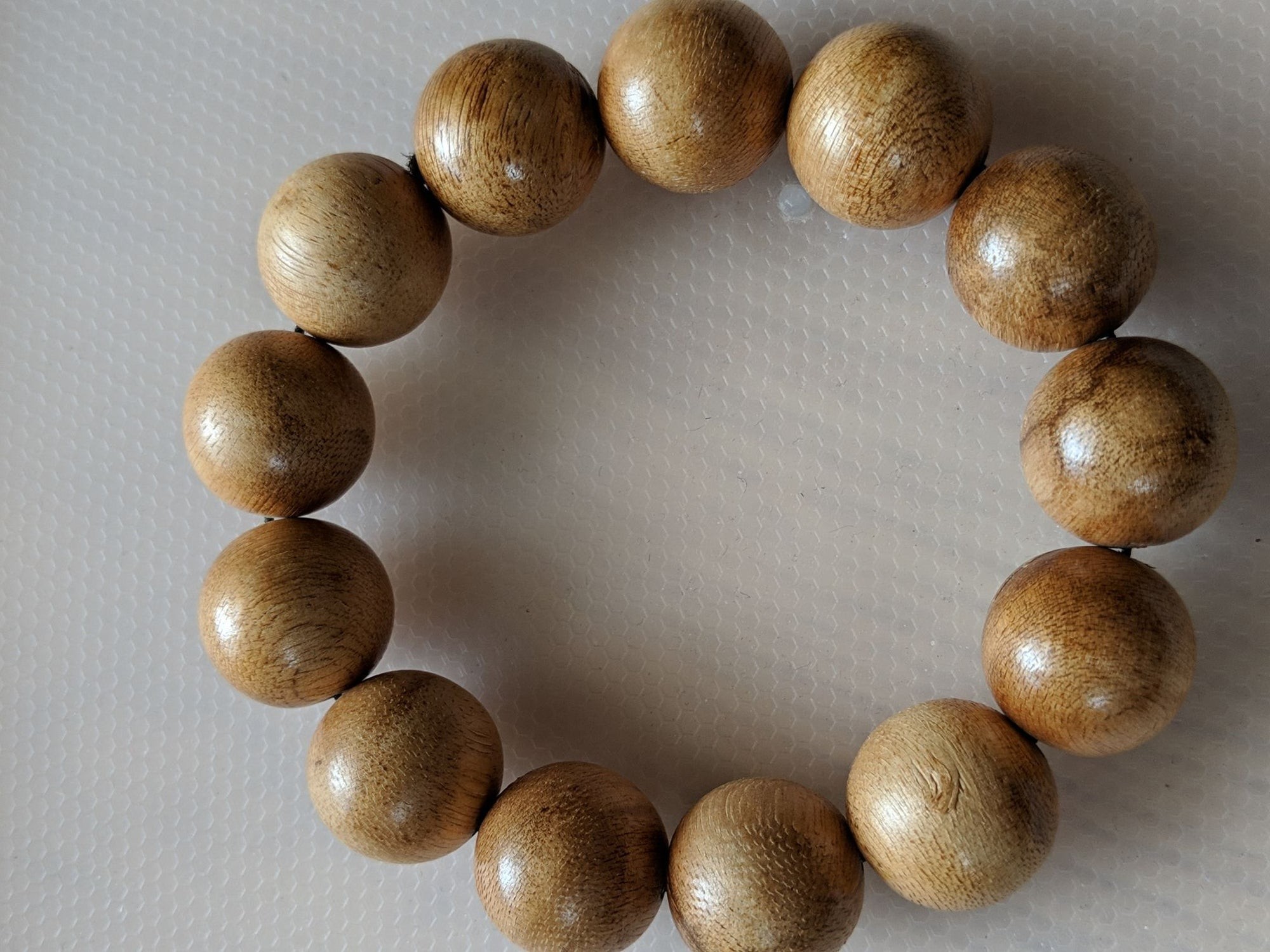 Beads Light resin wild Aquilaria bracelet (light infection agarwood)