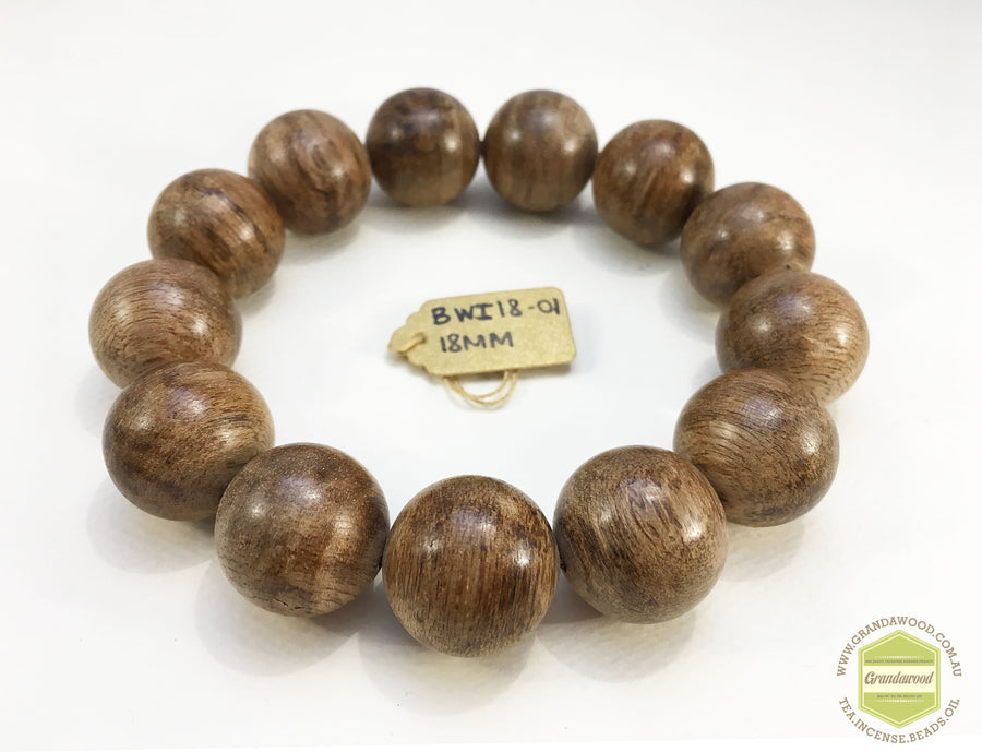 Beads 22.10g *NEW* Indonesia Wild Agarwood Bracelet 18mm
