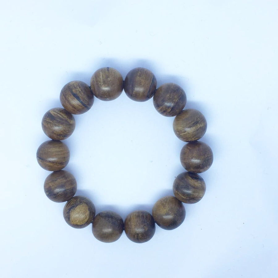 Beads *New* The Little Treasure Wild Agarwood Bracelet 22.6 g 16mm