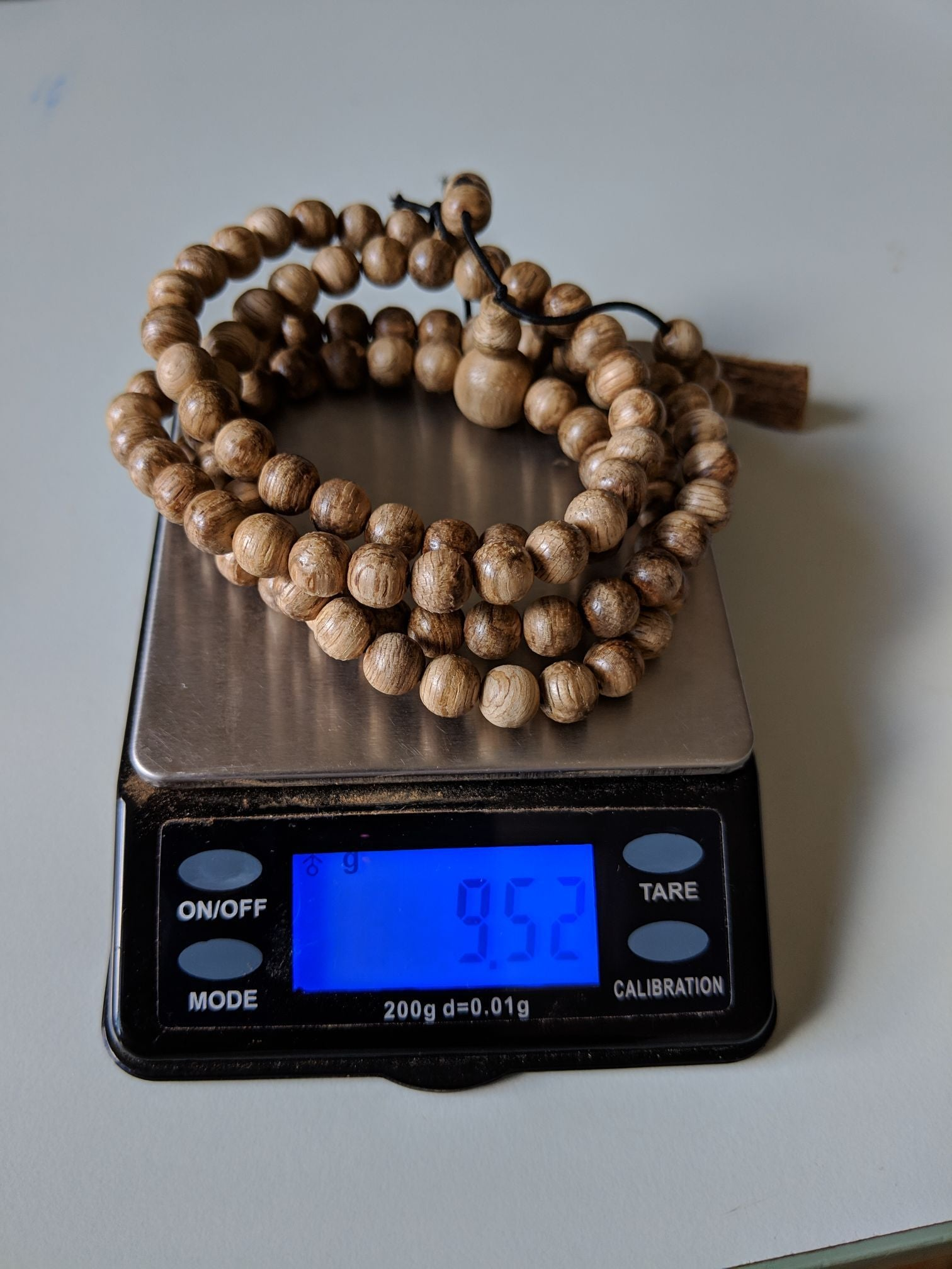Beads *New* Wild agarwood 108 mala 6mm 9g  Entry level