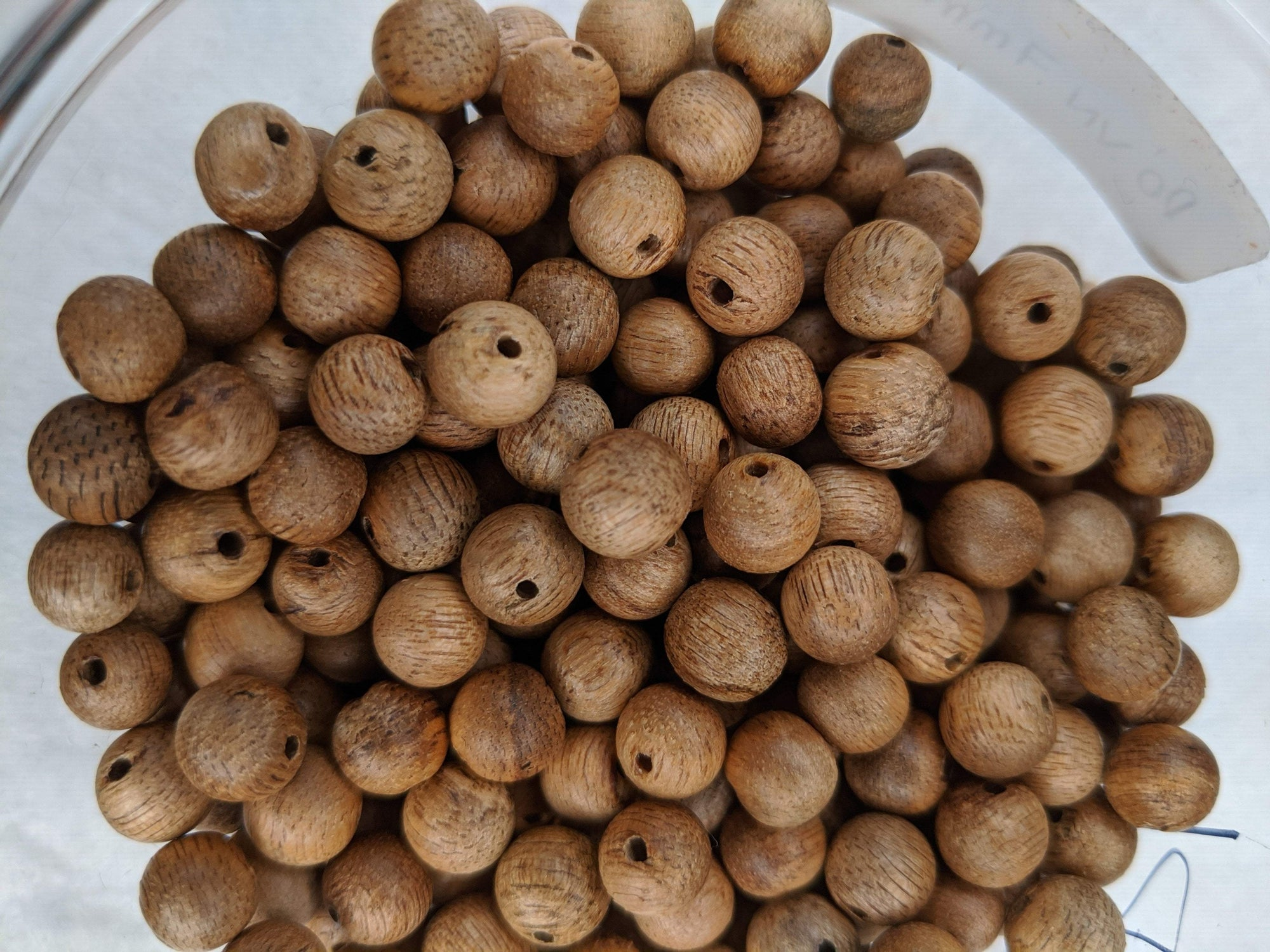 Single Beads Cultivated agarwood 7mm - Grandawood- Agarwood Australia