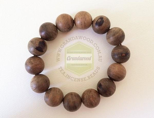 Beads SOLD- Indonesia Wild Agarwood Bracelet 佛珠