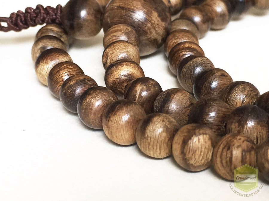 Beads SOLD- Wild Indonesia Mala Beads 6mm 108