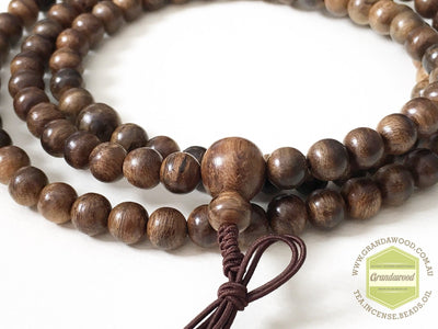 Beads SOLD- Wild Indonesian Mala 8mm 108 beads
